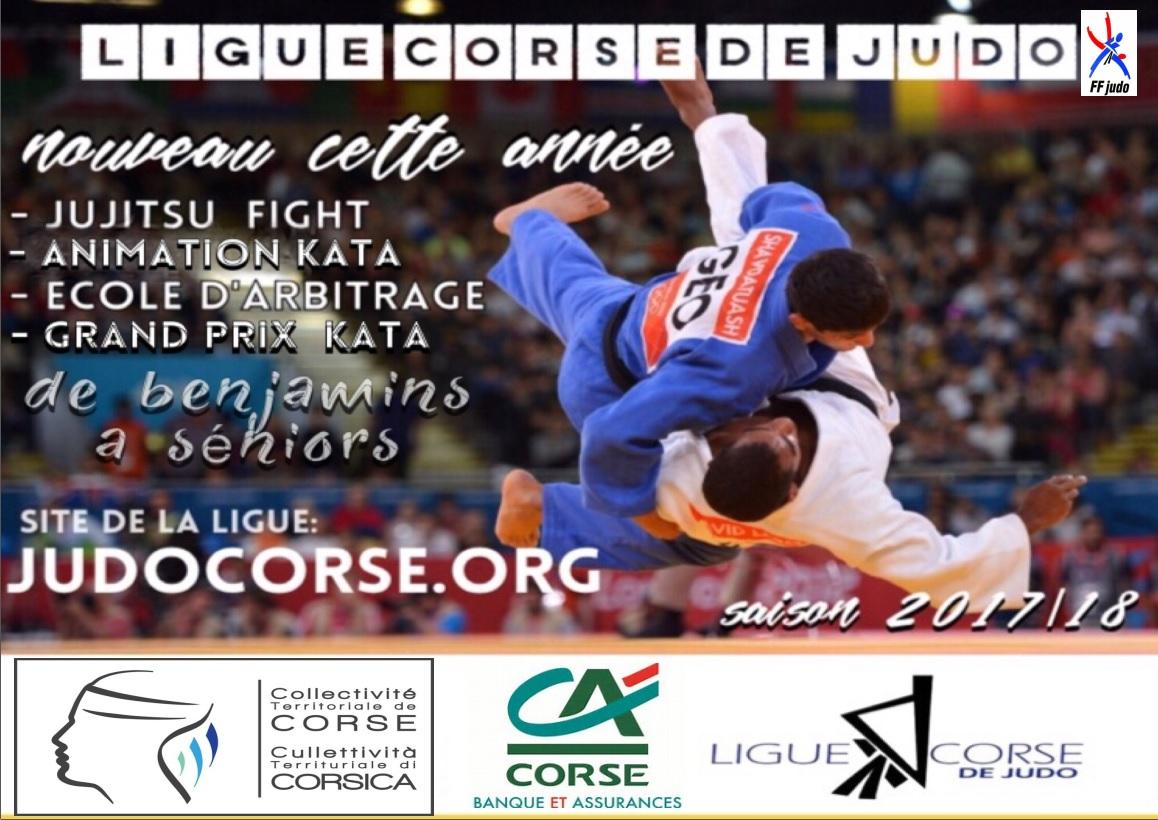 Ligue Corse de Judo 2017/2018