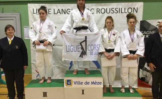 Léa Carrière - Demi-finale juniors 2018